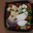 Salade quatre fromages
